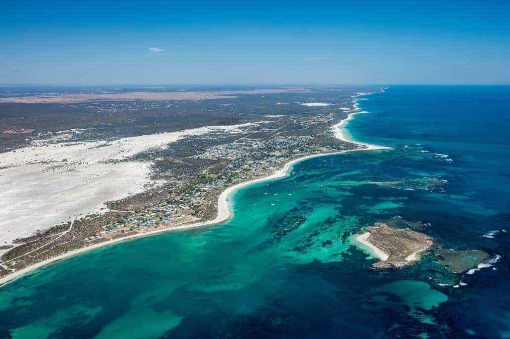 Kitesurfing in Lancelin, Western Australia // Kiterr.com