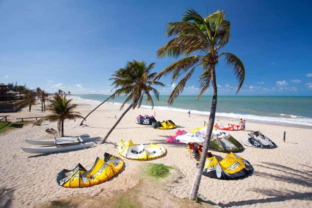 The best kitespots in Brazil - Cumbuco | Kiterr.com