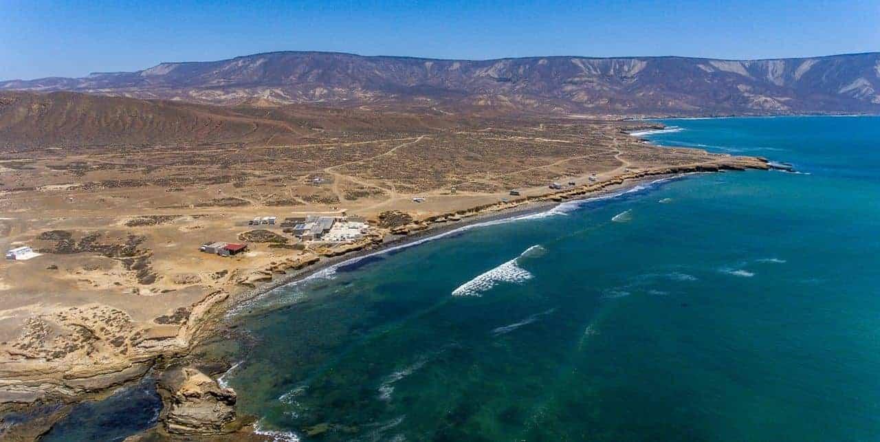 Kitesurfing in Punta San Carlos, Baja California, Mexico | Kiterr.com