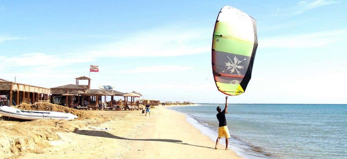 Lahami Bay - kiteboarding in Hamata, Egypt - Photo by Seven Multisport | Kiterr.com