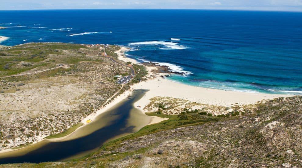 River Mouth - Kitesurfing in Margaret River, Western Australia // Kiterr.com