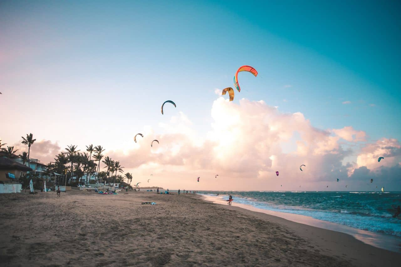 Nothing beats a good early morning session on Kite Beach - Kitesurfing in Cabarete, Dominican Republic | Kiterr.com