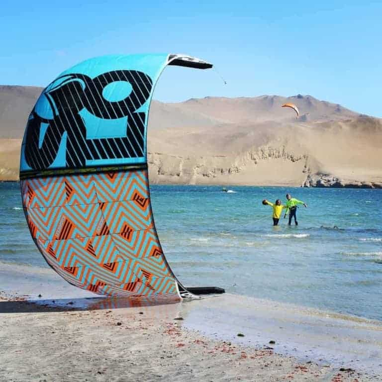 Kite Camp Paracas - kitesurfing camp in Paracas, Peru // Kiterr.com