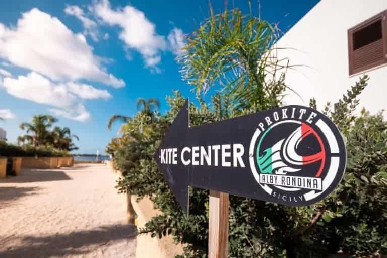 ProKite Alby Rondina - kitesurfing school & resort, Lo Stagnone, Sicily, Italy // Kiterr.com