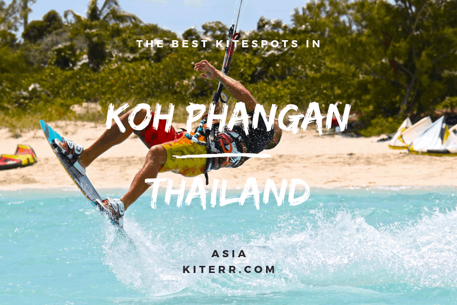 Kiteboarding in Koh Phangan - Best spots - Guide & Map // Kiterr.com