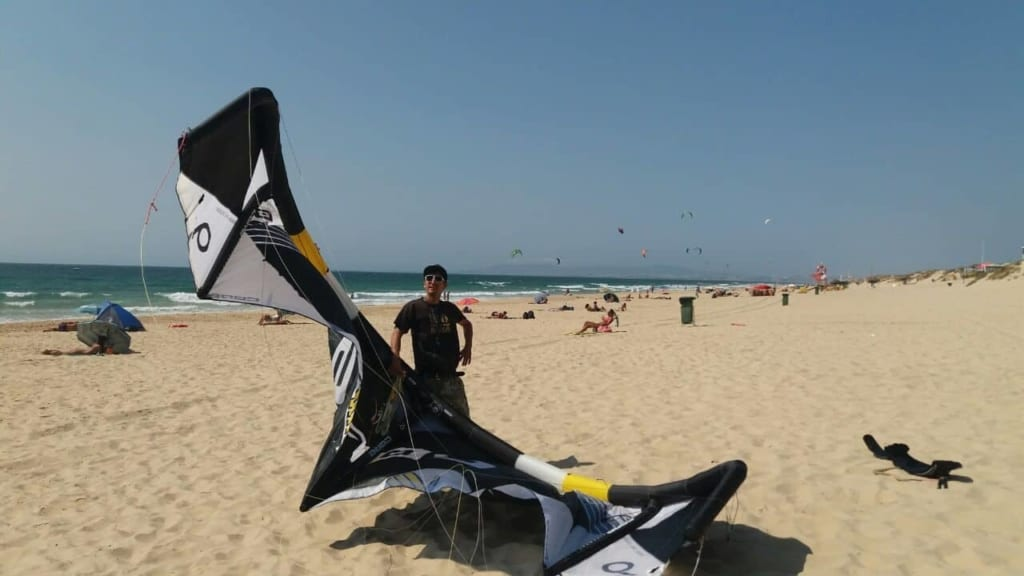 Solid kite Portugal // Kiterr.com