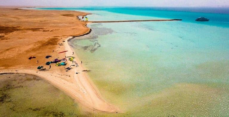 Kite safari with Sick Dog Surf - Red Sea, Egypt // Kiterr.com