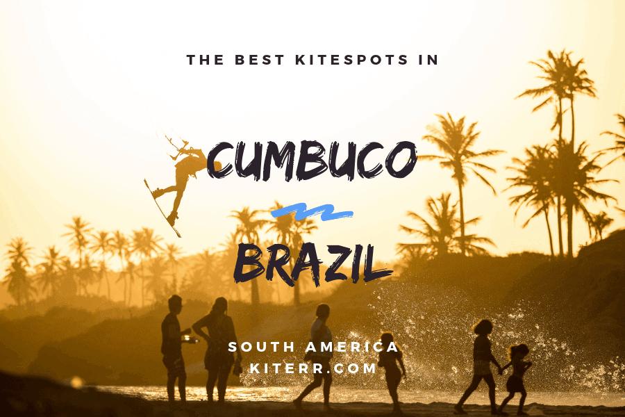 The best kiteboarding spots in Cumbuco, Brazil - Spot Guide & Map // Kiterr.com
