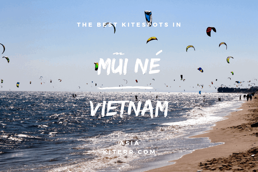 The best kitesurfing spots in Mui Ne, Vietnam - Spot Guide & Map // Kiterr.com