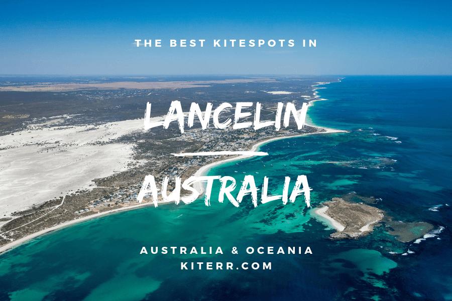 Kitesurfing in Lancelin, Western Australia - Spot guide & Map // Kiterr.com