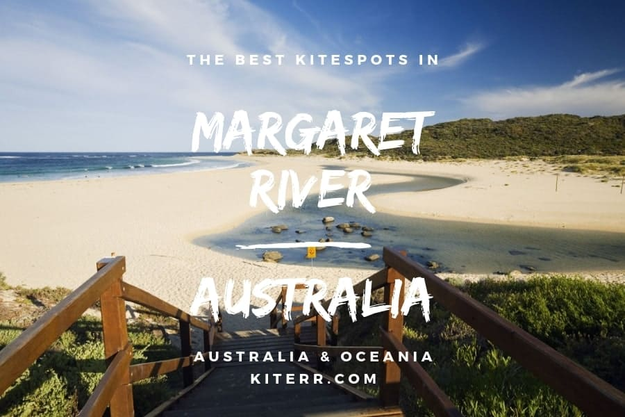 The best kitesurfing spots in and around Margaret River, Western Australia - Guide & Map // Kiterr.com