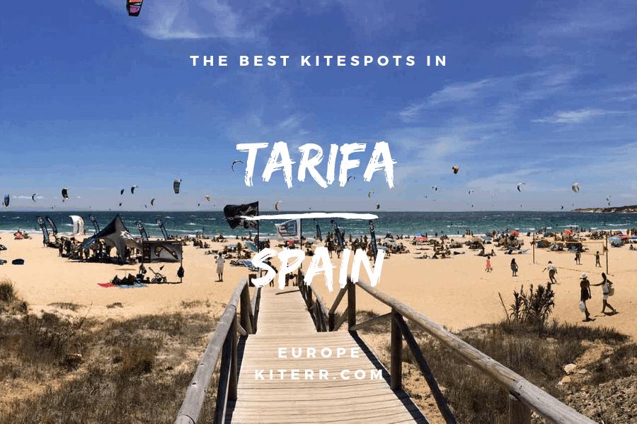 Kitesurfing spots in Tarifa, Spain // Kiterr.com