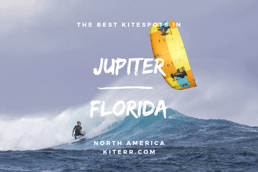 The best kitesurfing spots in Jupiter, Florida, USA  // Kiterr.com